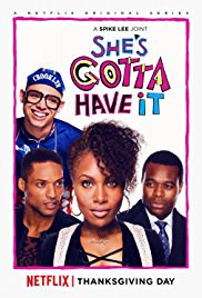 """promo photo for the TV series """"She's Gotta Have It"""""""