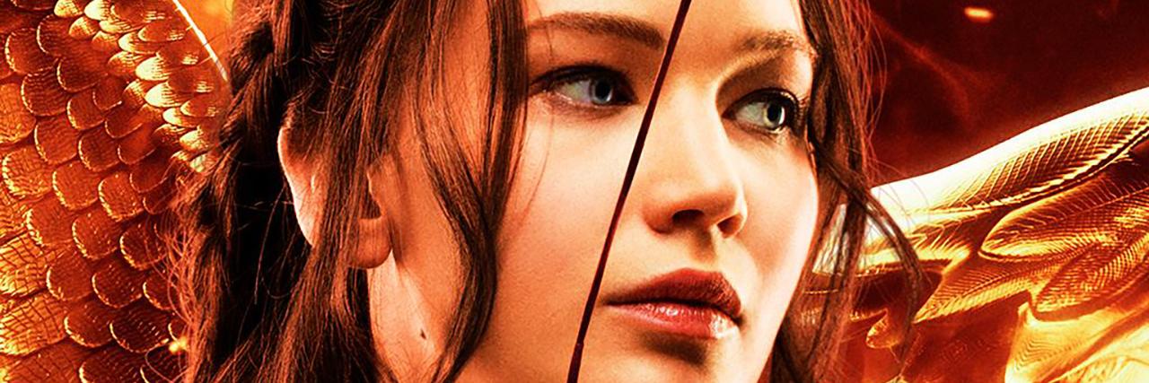Katniss Everdeen from The Hunger Games.