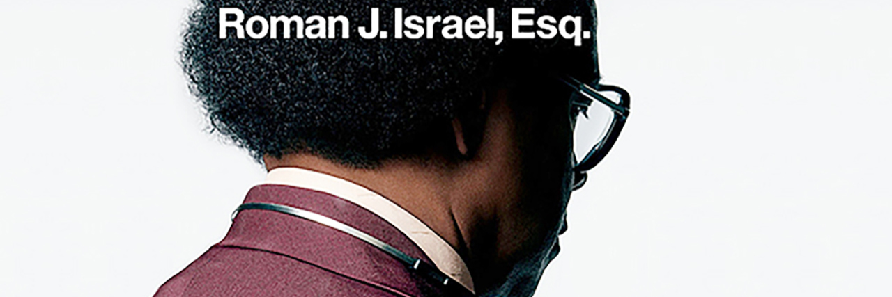 Roman J. Israel Esq. movie poster.