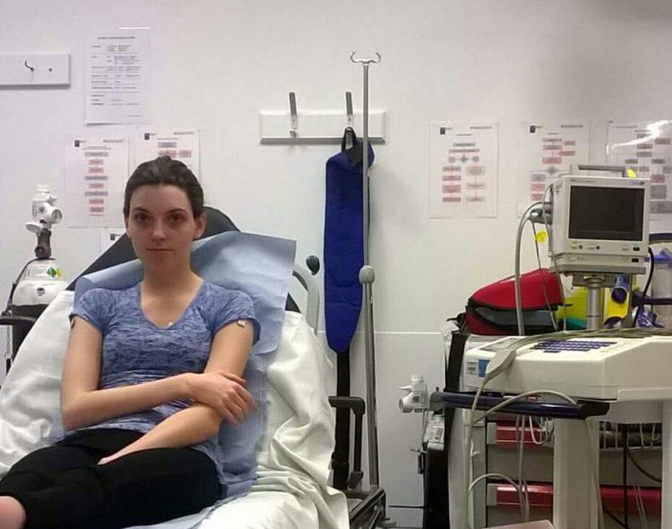 nathalie allport-grantham at doctor's office