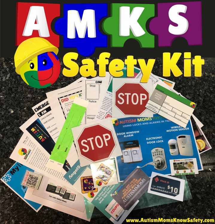 AMKS Safety Kit featuring all 20 items included in the kit