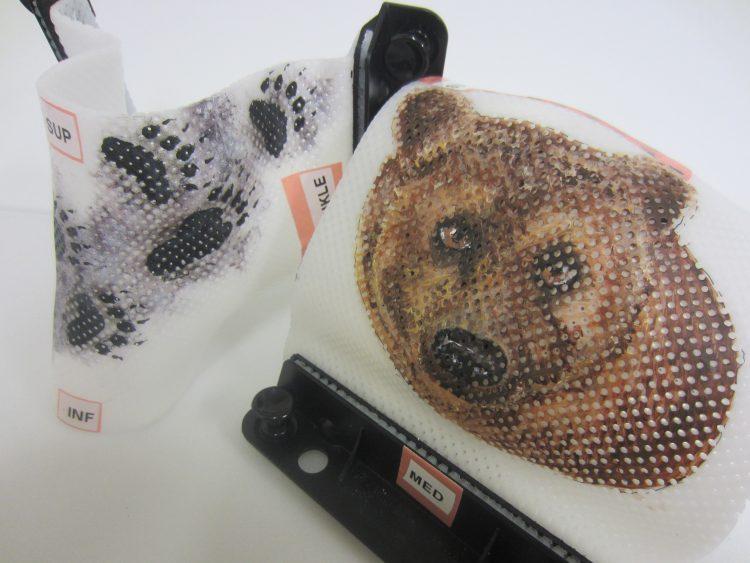 Bear radiotherapy mask
