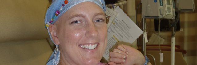 Heather McCollum in hospital