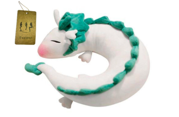 dragon shaped pillow