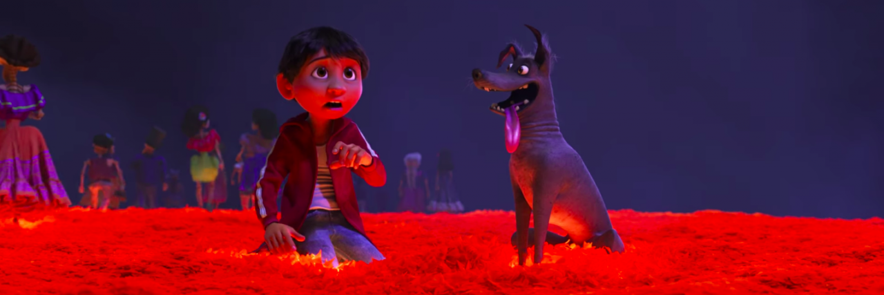 scene from coco