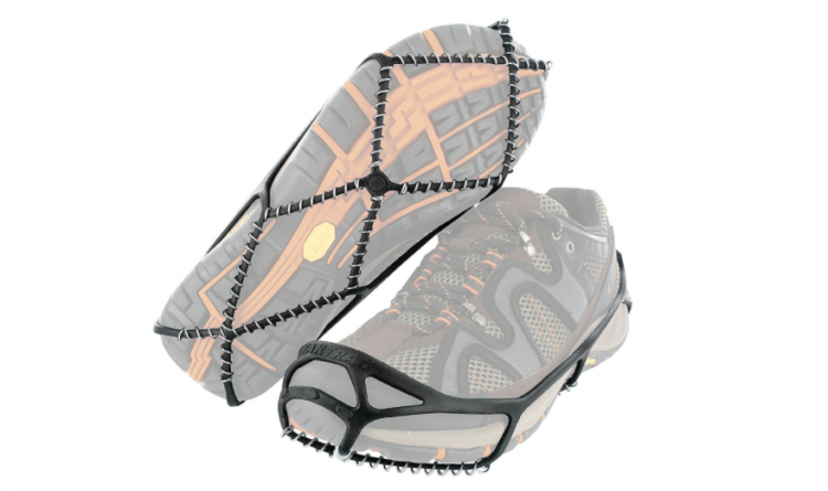 slip on traction cleats over sneakers