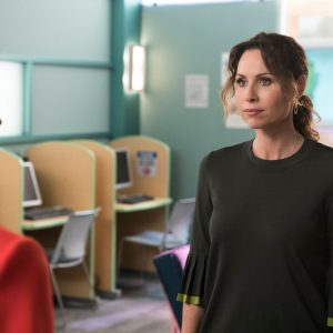 """Maya DiMeo from """"Speechless"""" confronting the principal on behalf of JJ"""