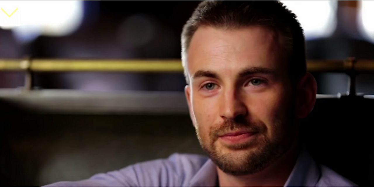 WATCH: How Chris Evans copes with anxiety and depression