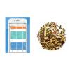 headspace app, davids tea and journal