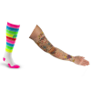 compression sock, compression arm sleeve and compression gloves