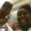 mother and daughter in the hospital