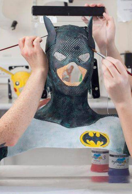 batman radiotherapy mask