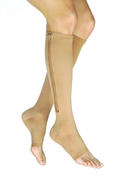 jobst open toe compression stockings
