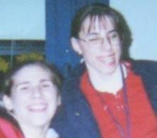 Allison Manzino and I in 2001.