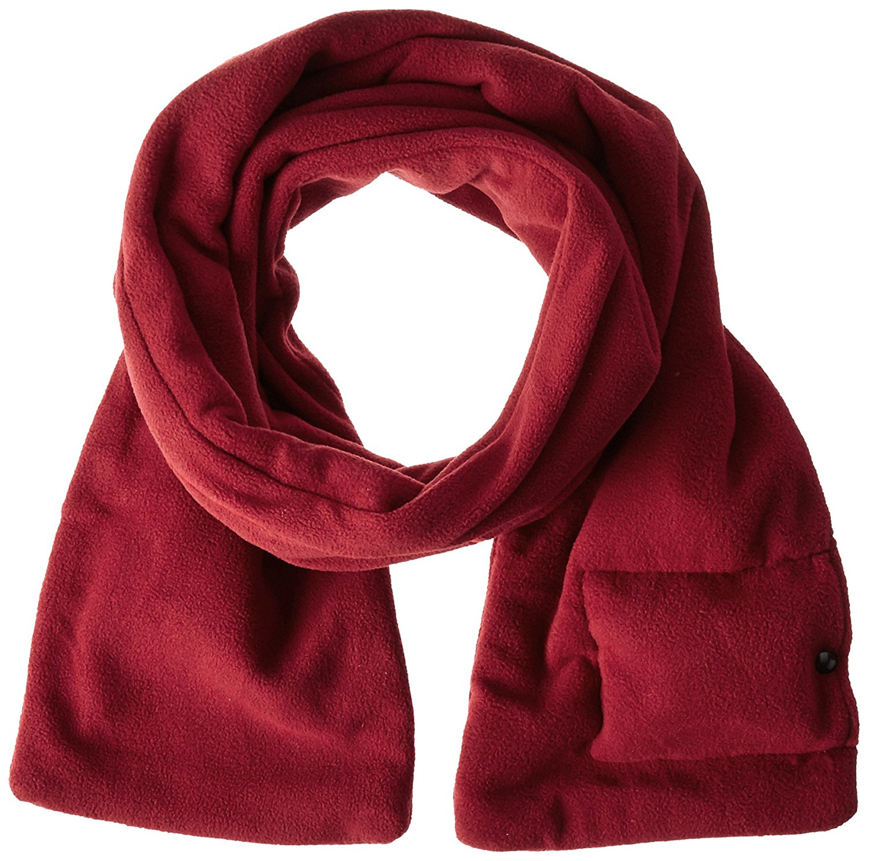 red sunbeam heated scarf