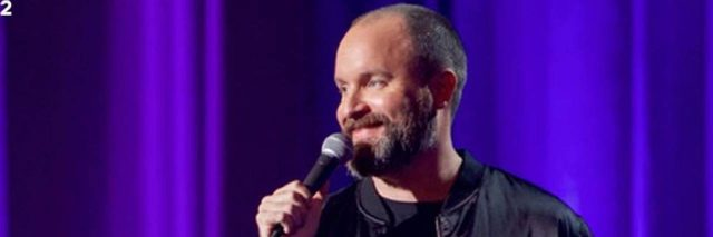 Photo is Tom Segura at Disgraceful show
