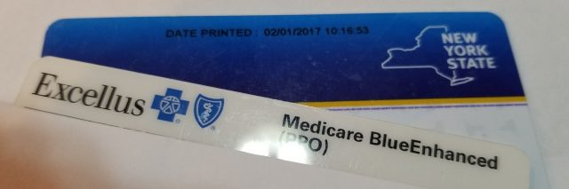 Health care ID cards.