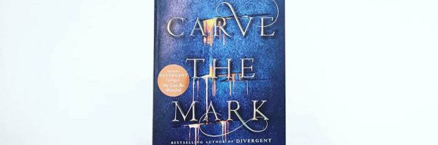 "A photo of the book ""Carve the Mark."""