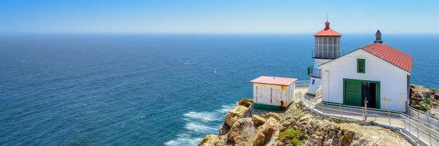 Point Reyes Lighthouse, California, USA.