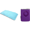fast drying microfiber gym towel, gel'o cooling pillow mat and o2 cooling necklace fan