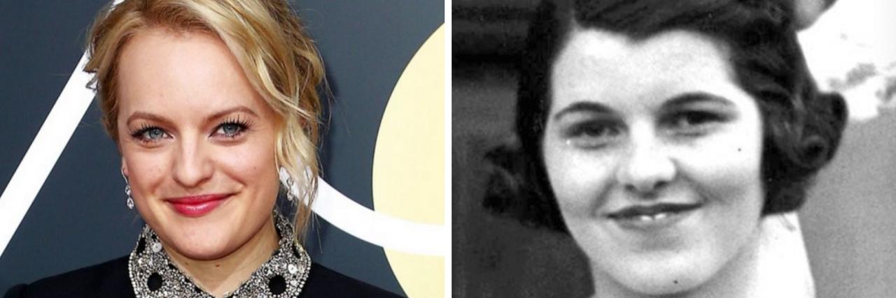 Elisabeth Moss and Rosemary Kennedy