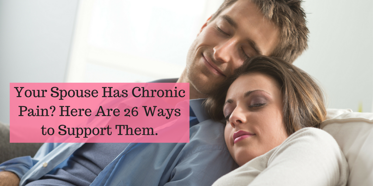 Chronic pain dating site