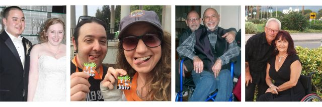 Couples with disabilities discuss healthy relationships.