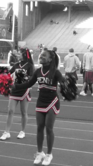 Kellee Nicole cheerleading