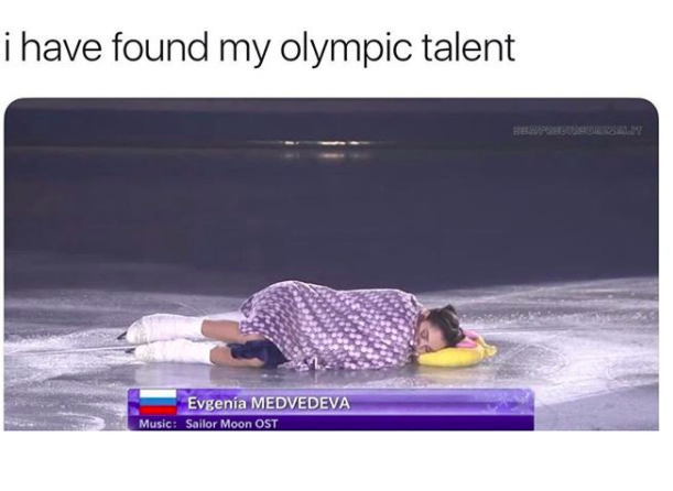 finally found my olympic talent
