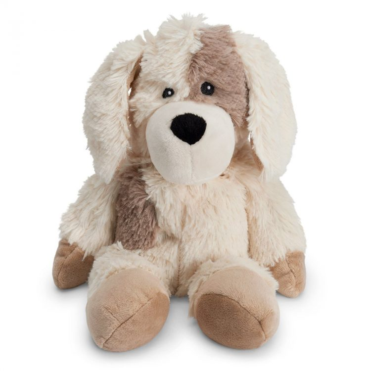 microwavable puppy stuffed animal