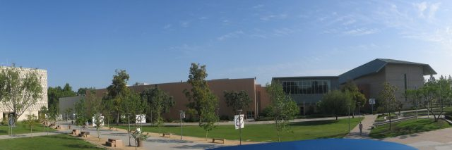 California State University Fullerton -- panoramic view.