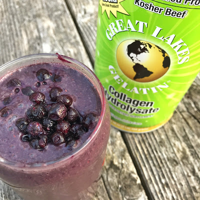 A picture of a smoothie.