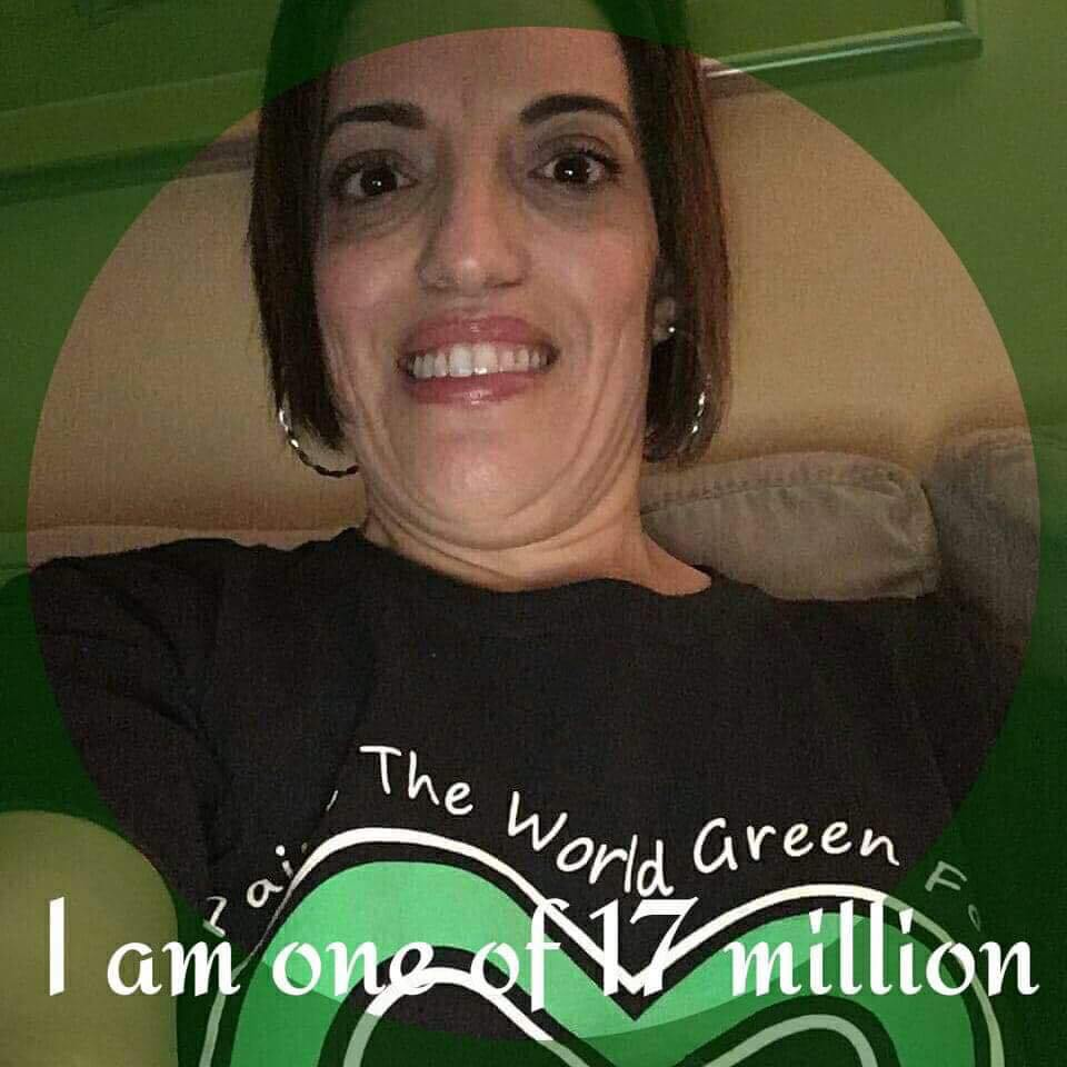 Nicole Luongo. I am 1 in 17 million.