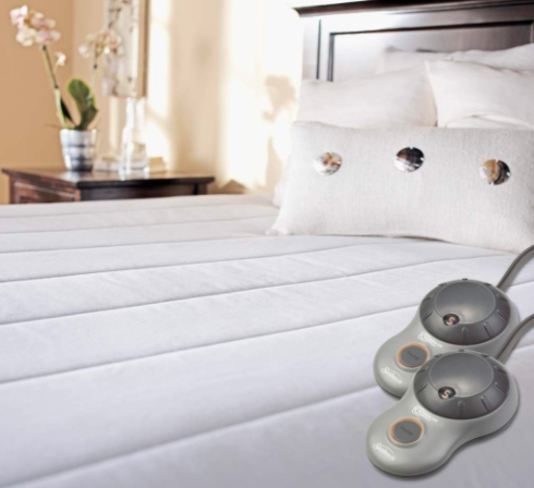 mattress pad with remote controls