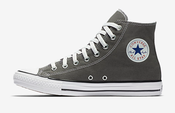 converse high tops in gray