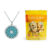 essential oil diffuser necklace, gin gins chewy candy, and gel ice packs