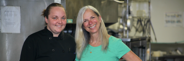 The owners of Seagull Bakery in Florida.