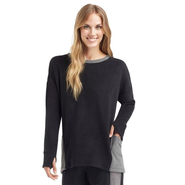 fleece pullover top from cuddl duds