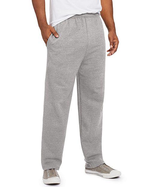 gray hanes men's sweatpants