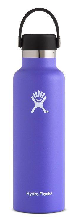 purple hydroflask water bottle