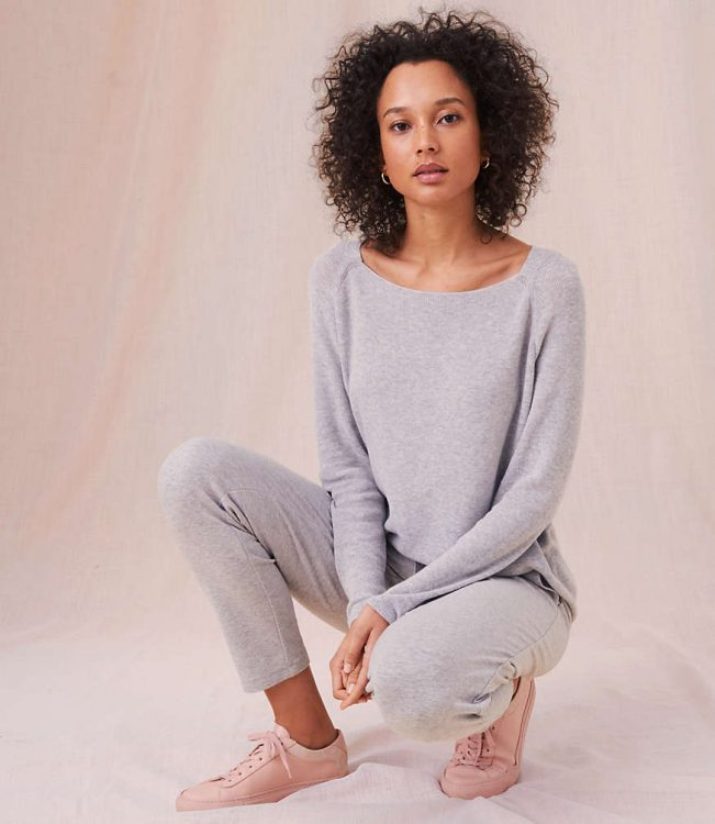 lou and grey sweater tunic from the loft