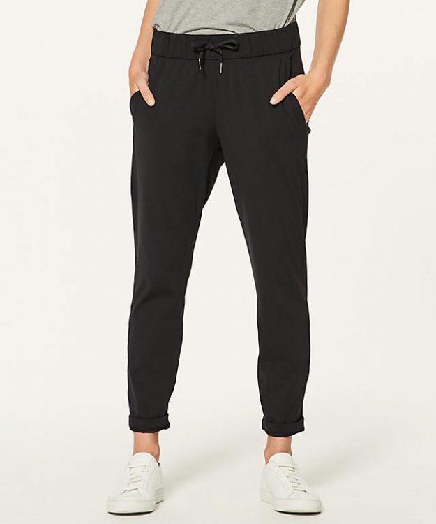 lululemon on the fly black pants
