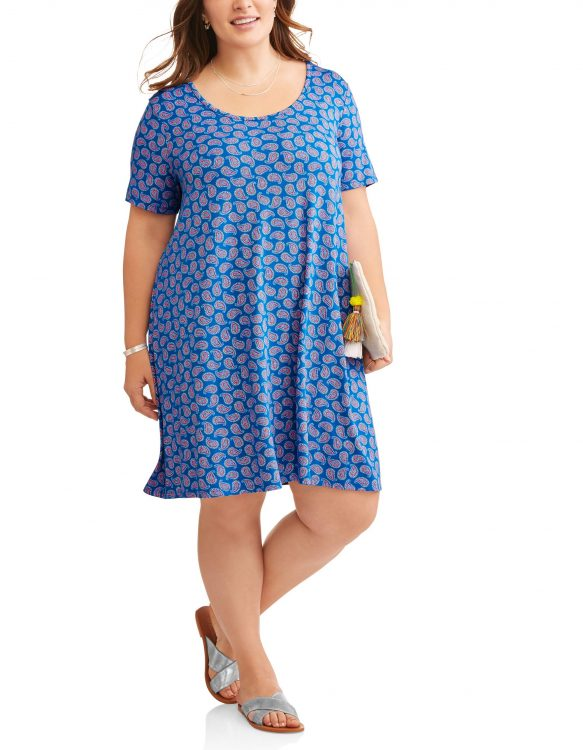 blue dress from terra and sky