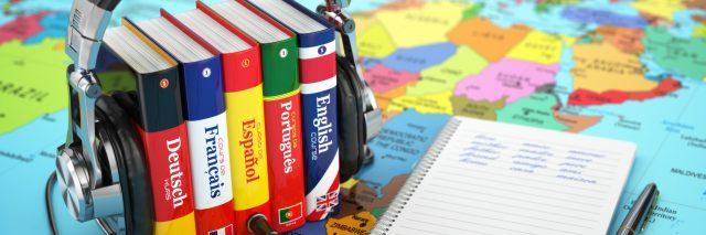Learning languages audio books.