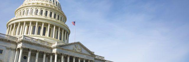 United States Capitol Building east facade - Washington DC United States
