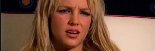 confused britney spears