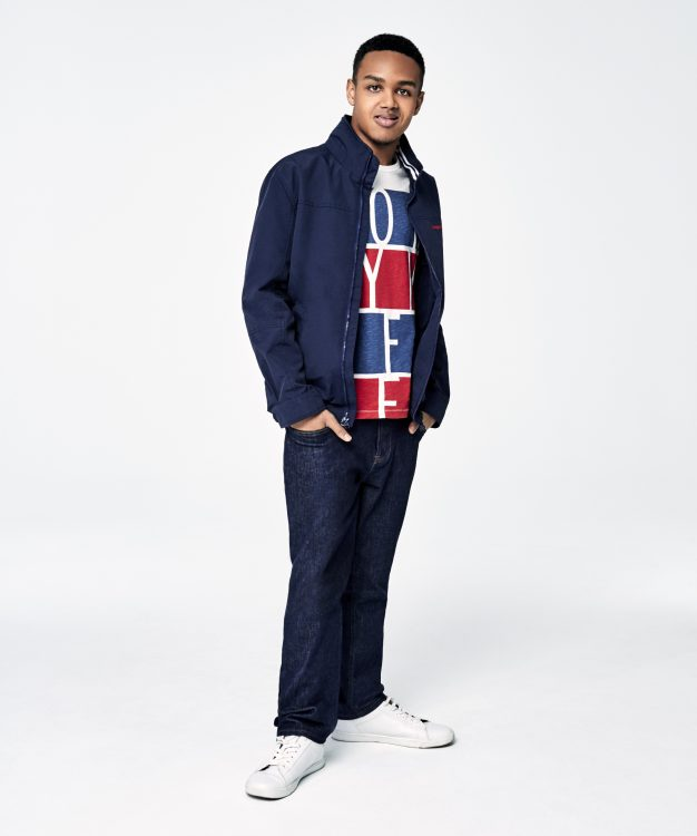 Jeremiah Josey for Tommy Hilfiger