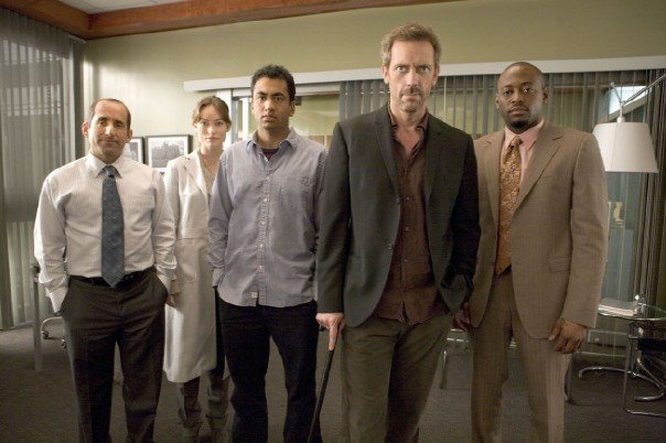dr gregory house and his team