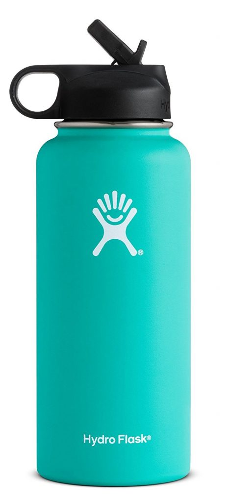 turquoise hydroflask water bottle