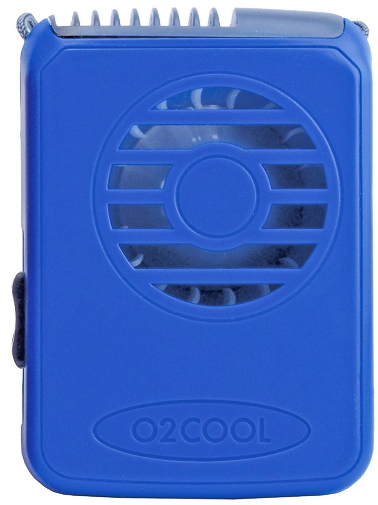 o2 cooling necklace fan